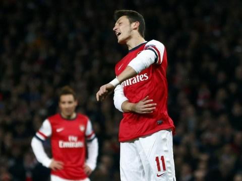 Mesut Ozil looks lost among Arsenal team-mates who don't accept him, says Michael Ballack