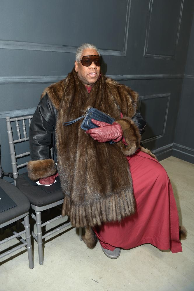 10 Fashion week regulars we wouldn't mind getting stuck in a lift with –  Andre Leon Talley included