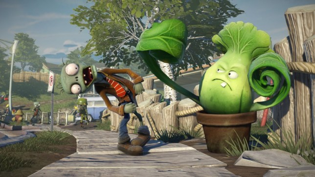 Plants Vs. Zombies: Garden Warfare (XO) - aggh! colours!