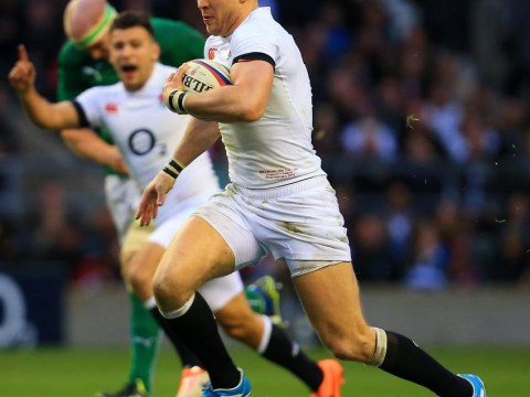 England's Mike Brown and Ireland's Rob Kearney lit up a classic at Twickenham