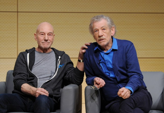 Sirs Ian McKellen and Patrick Stewart: X-Men echoes struggles of gay rights movement