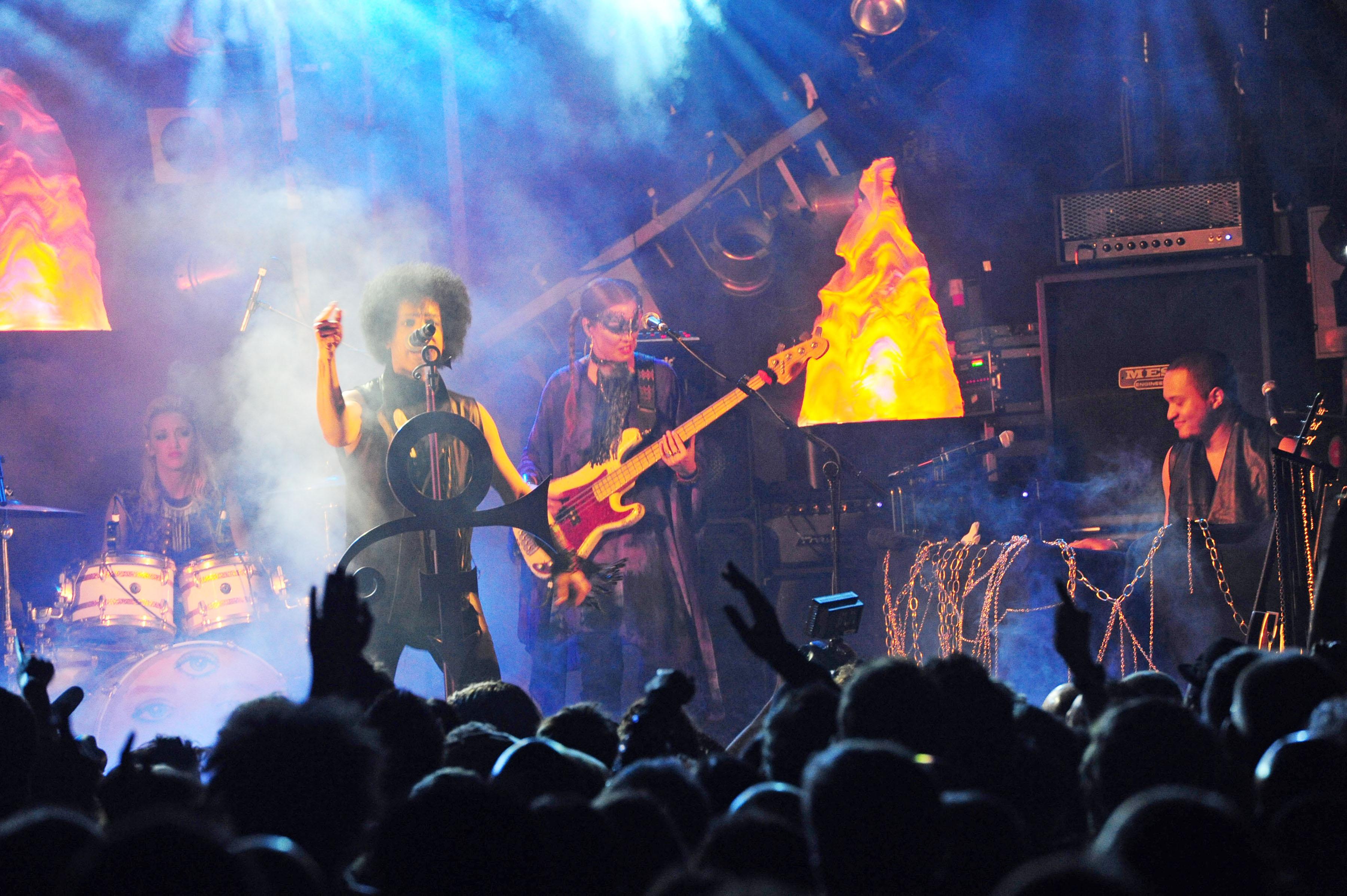 Rumours of a Glastonbury headline slot reach purple fever pitch as Prince takes London
