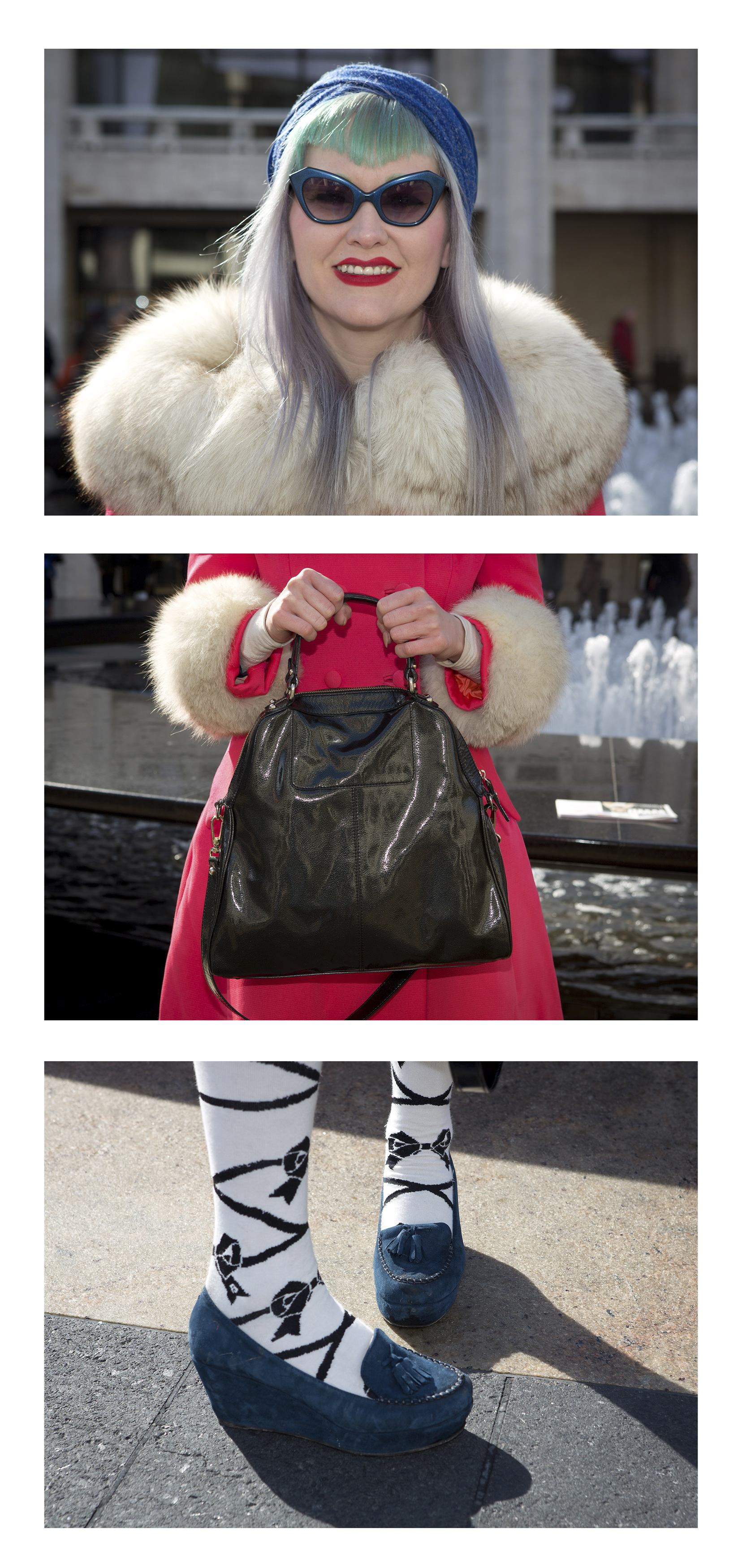 Gallery:  Triptych portraits during New York Fashion Week 2014