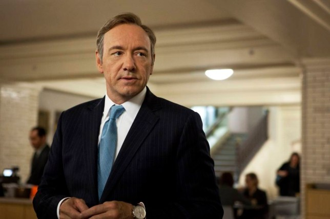 Kevin Spacey as Frank Underwood in House of Cards (Picture: AP Photo/Netflix, Melinda Sue Gordon)