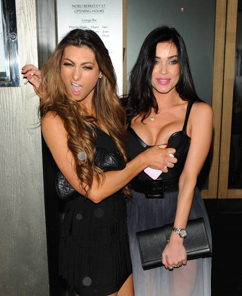 Luisa Zissman and Jasmine Waltz in London