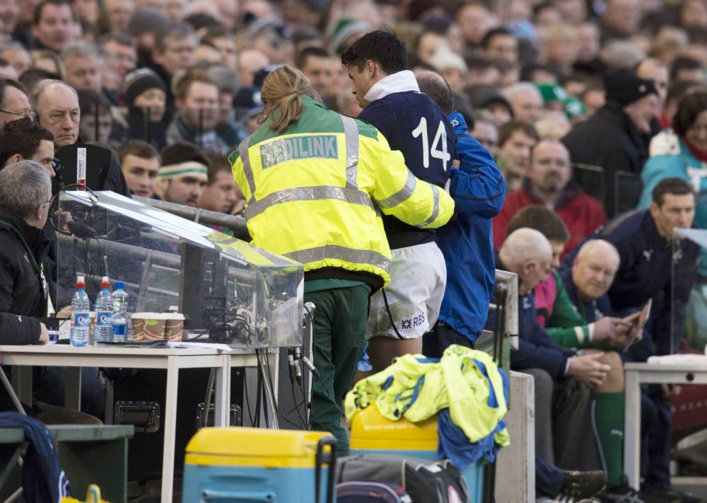 Blow for Scotland as Sean Maitland is ruled out of England clash