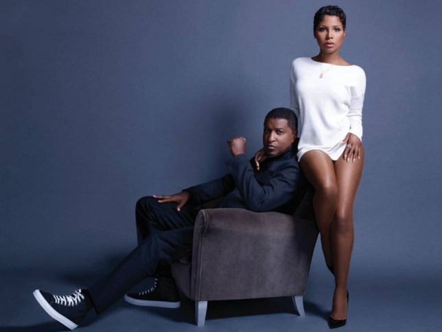 Toni Braxton and Babyface have reunited for their new album (Picture: supplied)