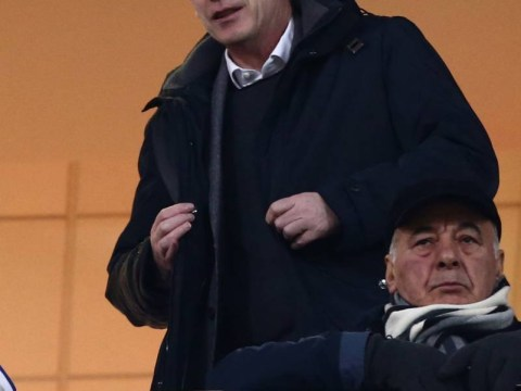 David Moyes attends Olympiakos match ahead of Manchester United's Champions League clash