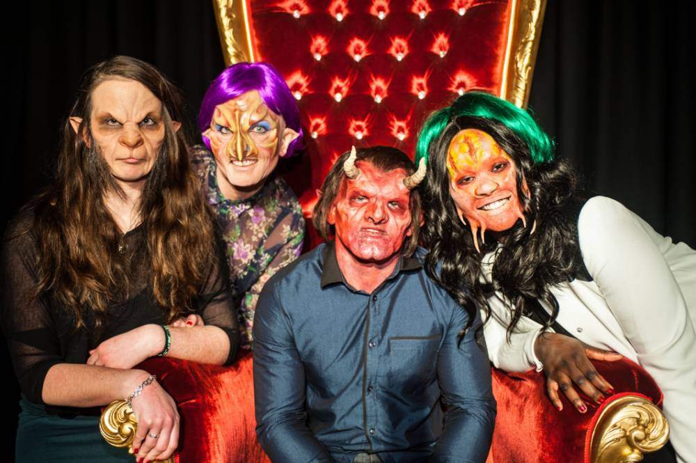 BBC3 mask dating show svarta advokater dejtingsajt