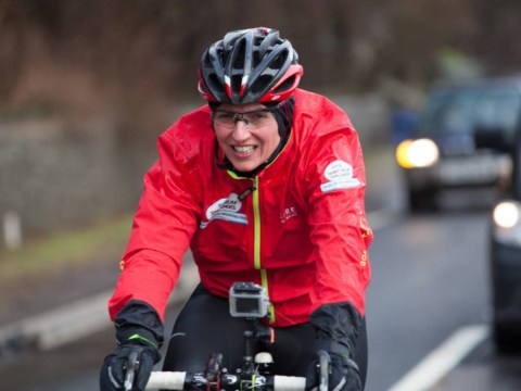 Davina McCall for Sport Relief 2014: Biking to Brum was far worse than my water woes