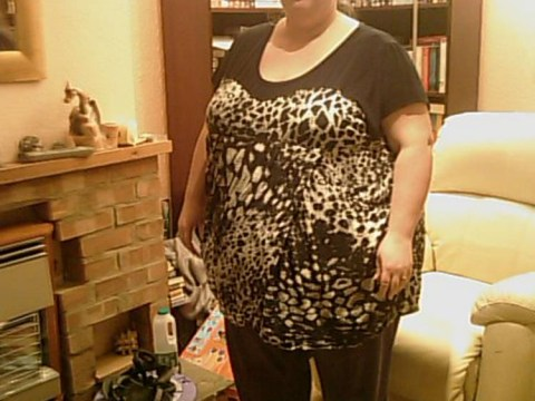 Woman loses same weight as a baby elephant
