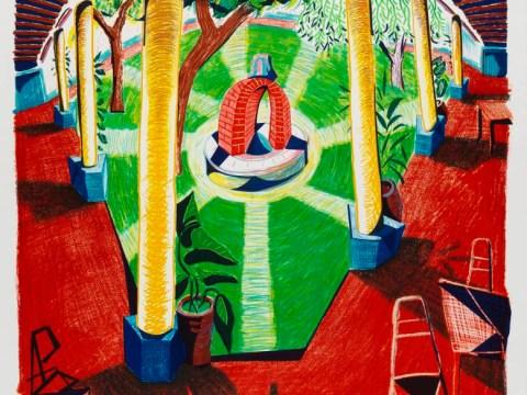 Hockney: Printmaker spans 60 years of artistic endeavour