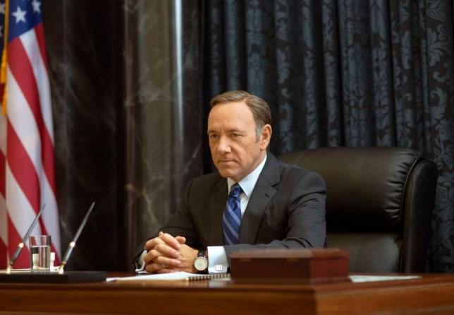 Kevin Spacey as Francis Underwood - House of Cards (Picture: AP/Netflix)