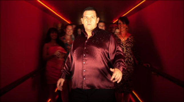 Nick Frost looks good on the dancefloor (Picture: supplied)
