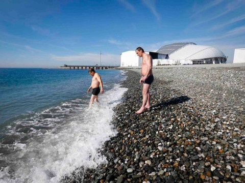 Sochi 2014 Winter Olympics: Life's a beach at the Games but shouldn't it be snowing?