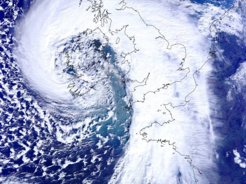 The Big One: 100mph storm batters Britain bringing mass power cuts and travel misery