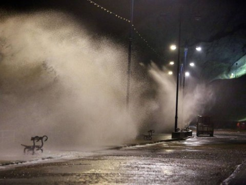 Wild Wednesday: Atlantic storm rips through UK leaving 130,000 without power