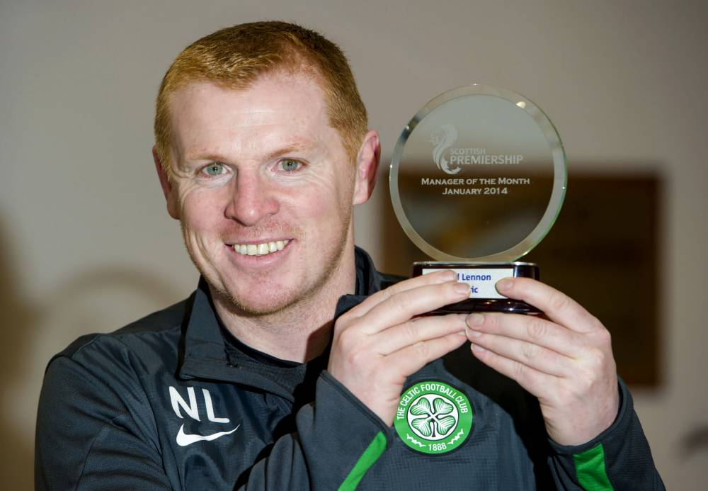 Celtic manager Neil Lennon targeting unbeaten league season