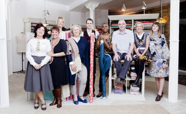 The Great British Sewing Bee is a little less tempting than Bake Off (Picture: Love/Charlotte Medlicott)