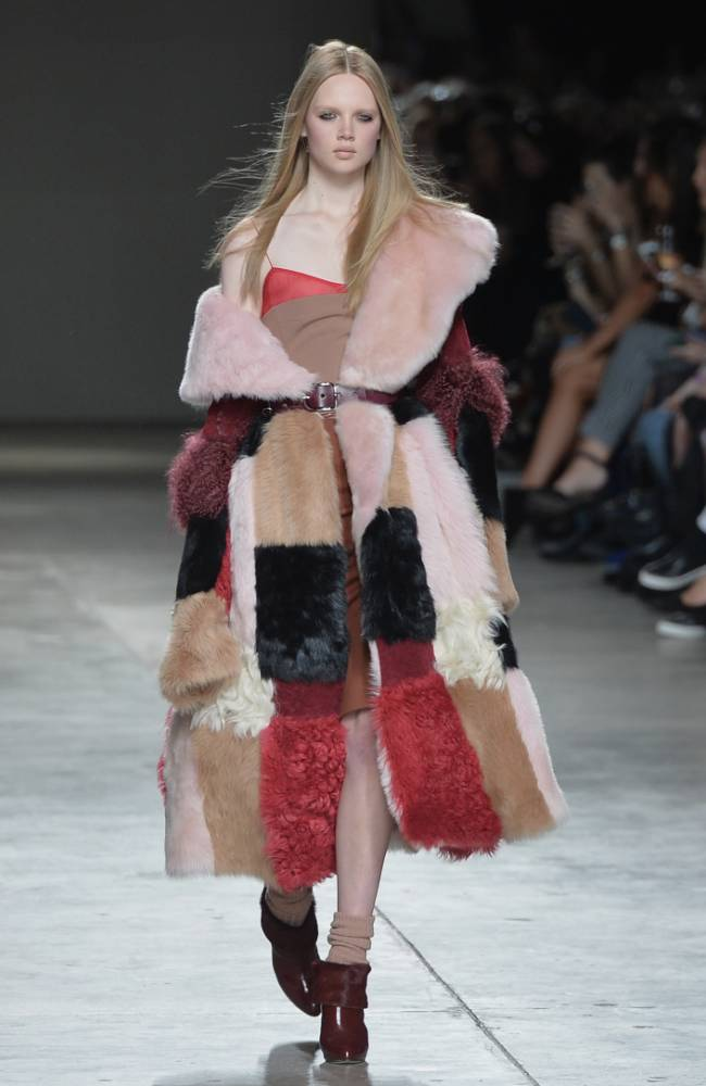 London Fashion Week AW14: Sumptuous style scorns the storms