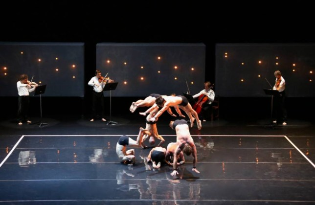 Somersaults and backflips take pride of place in Circa: Opus (Picture: Justin Nicholas)