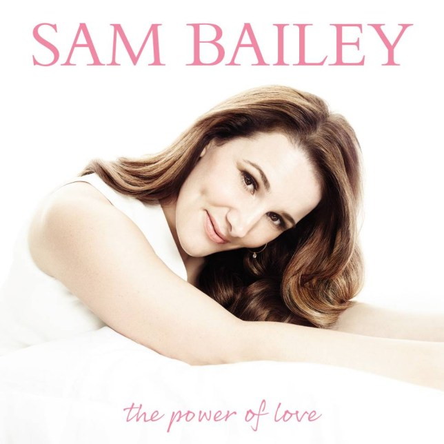 Sam Bailey shows off new look on her debut album (Pic: Supplied)