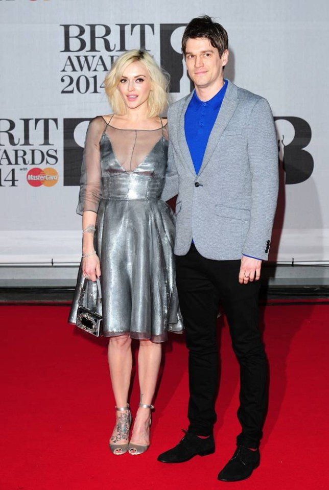 Fearne Cotton and Jesse Wood at the Brits 2014