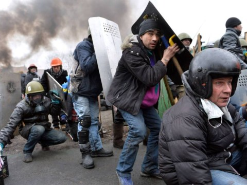 Ukraine crisis: Shocking video shows snipers picking off protesters in Kiev