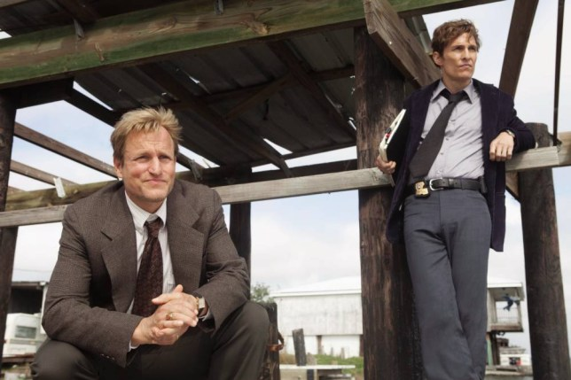 Woody Harrelson as Martin Hart and Matthew McConaughey as Rustin Cohle in the first season of True Detective (Picture: Home Box Office Inc)