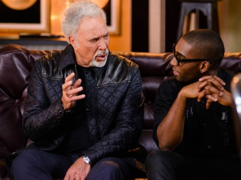 Tinie Tempah helps Sir Tom Jones out on The Voice, has no idea what's going on
