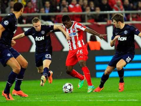 Olympiakos v Manchester United: United fans fume as Tom Cleverley, Ashley Young and Antonio Valencia start Champions League tie
