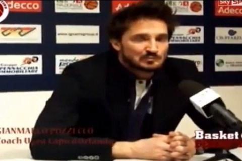 Greatest rant ever? Italian basketball coach goes into meltdown – Video