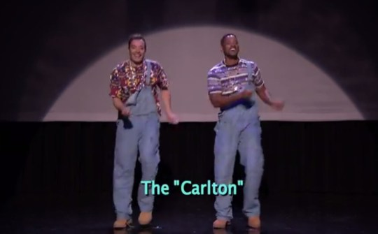 Will Smith is happy to do 'The Carlton' (Picture: NBC)
