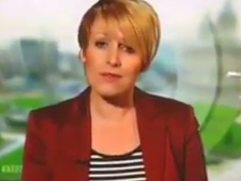 Now you see her, now you don't: watch BBC Look North reporter fall victim to spectacular camera error
