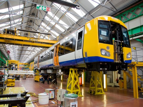 Bombardier celebrates £1bn contract but Hitachi says it builds in Britain too!