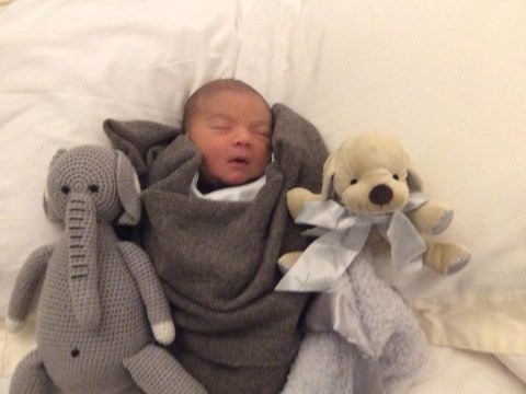 Aw! Simon Cowell shares the cutest photo of sleeping Eric