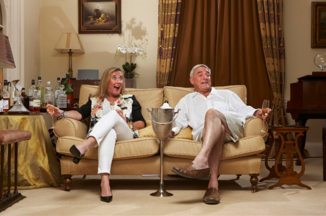 We were out of our box, Gogglebox couple admit