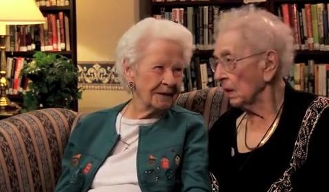 100-year-old best friends give us their thoughts on twerking, Justin 'Beaver' and selfies