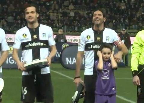 Parma mark centenary celebrations by giving opposition players vacuum cleaners before kick-off