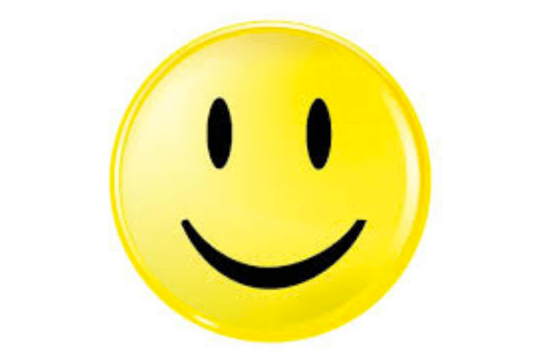 Really smiley face