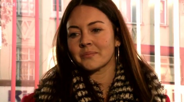 Stacey's return was brief but had viewers chomping at the bit for the next episode (Picture: BBC)