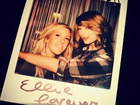 Taylor Swift tweets Ellie Goulding selfie – and shows off new haircut