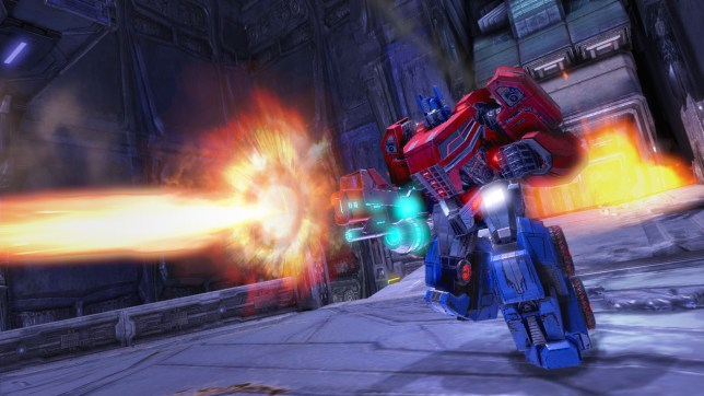 Transformers: Rise Of The Dark Spark – the Fall Of Cybertron style Optimus Prime