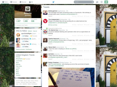 Wondering why your Twitter's gone pink or green? Microblogging site unveils redesign