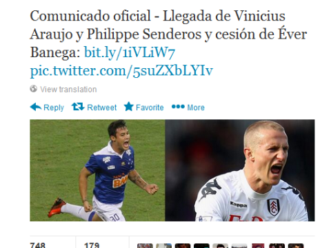 Oops! Valencia accidentally announce signing of wrong player from Fulham