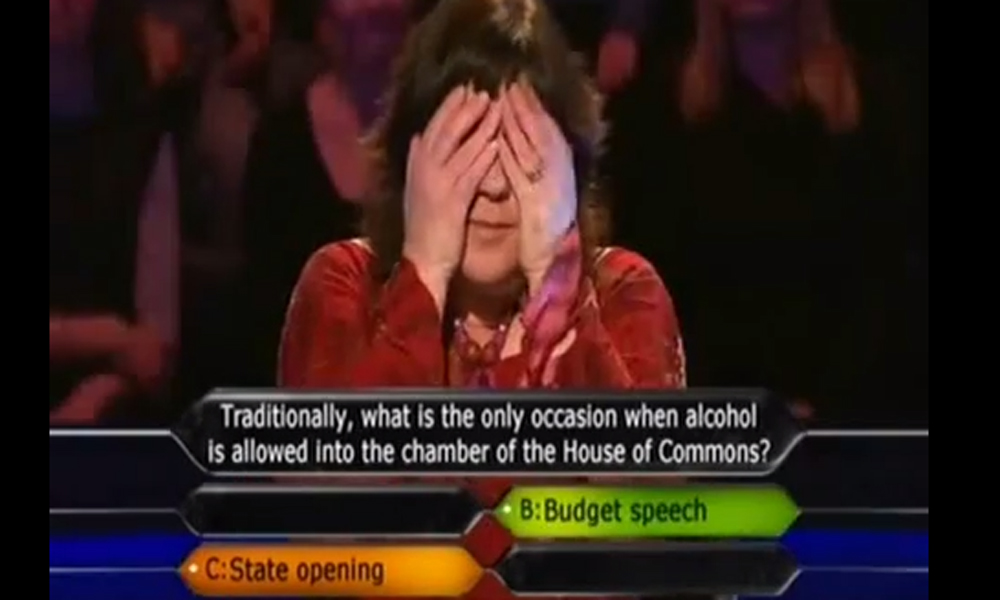 Is that REALLY your final answer? Five times when Who Wants To Be A Millionaire went slightly wrong