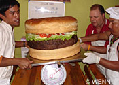 Gigantic burger