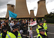 Drax power protest