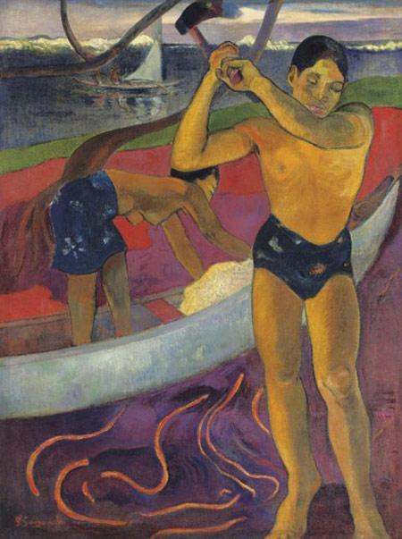 Paul Gauguin's L'Homme a la hache
