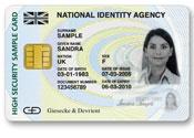 UK ID card